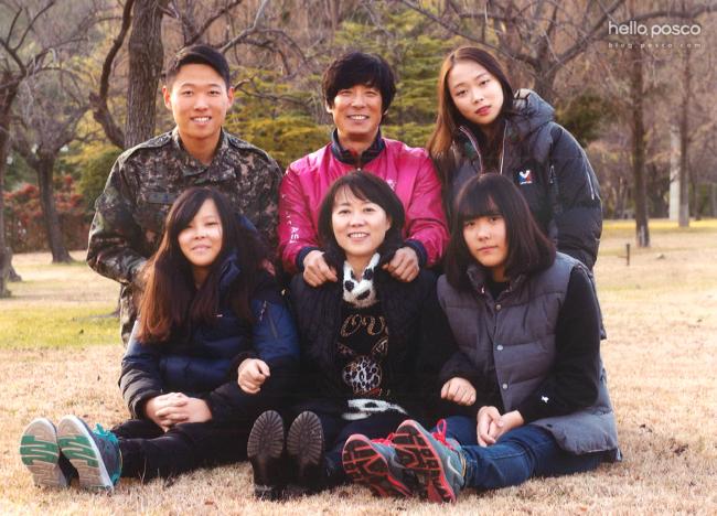 이상훈님 가족 사진