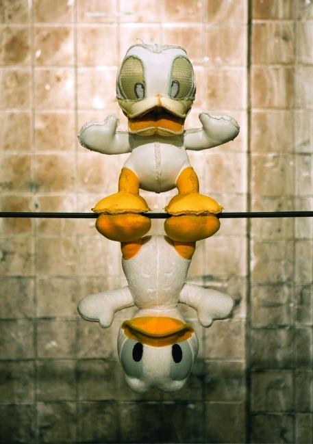 정문경 – Dlanod Duck Donald_Mixed media
