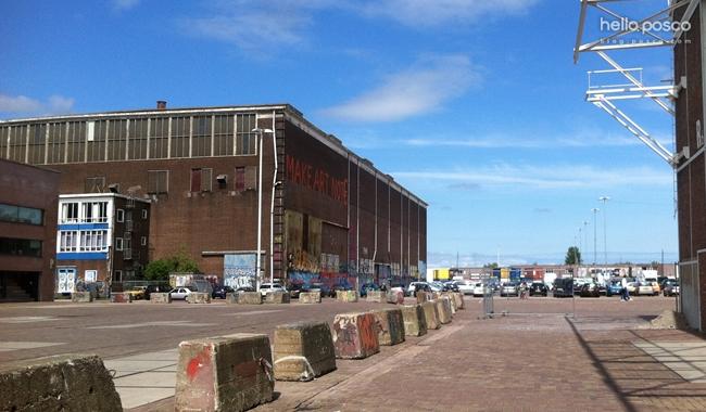 네덜란드 암스테르담 NDSM풍경