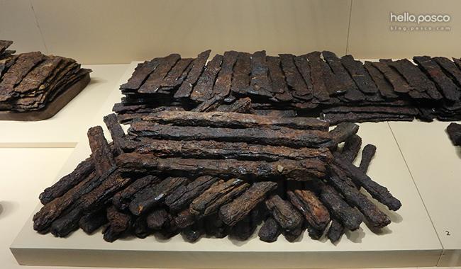 황남대총에서 발견된 덩이쇠