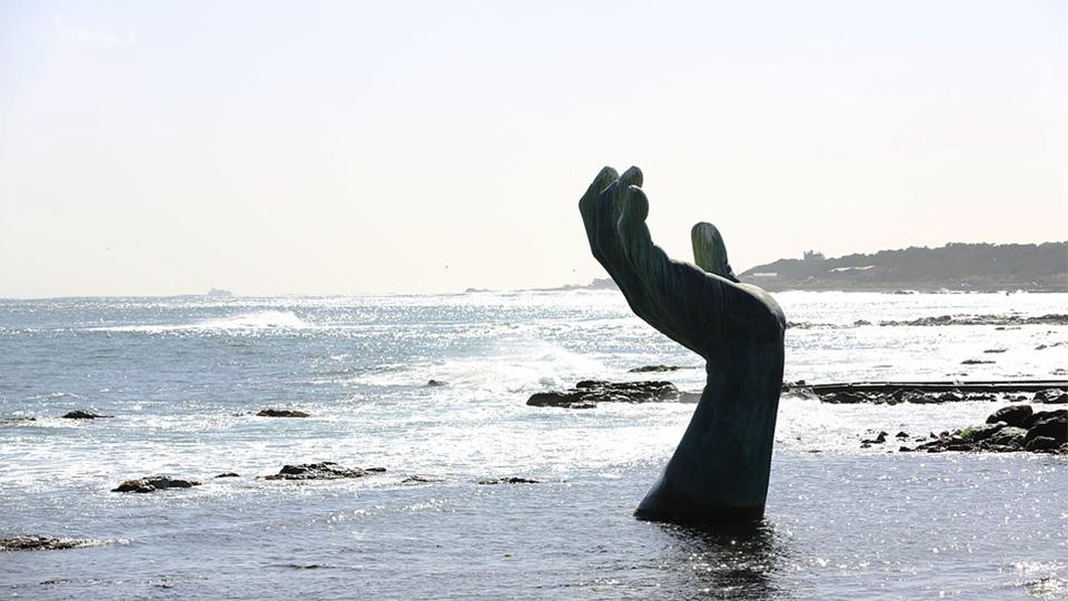 호미곶 전경