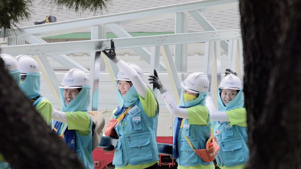 김시아(고려대학교 미디어문예창작학과)비욘드 11기 봉사 참여 모습