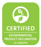 미국 UL(Underwriters' Laboratories) Environment의 '환경성적표지(EPD, Environmental Product Declaration)' 인증 마크