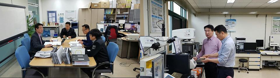 포항 품질기술부 재질시험과에서 40여 년간 근무한 김원호 씨
