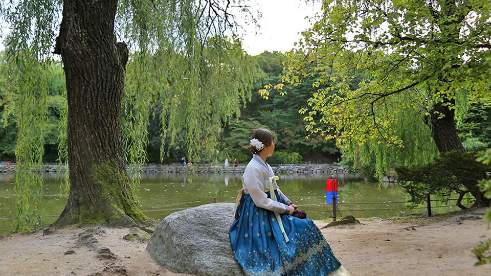 창경궁 후원에 있는 연못 '춘당지'