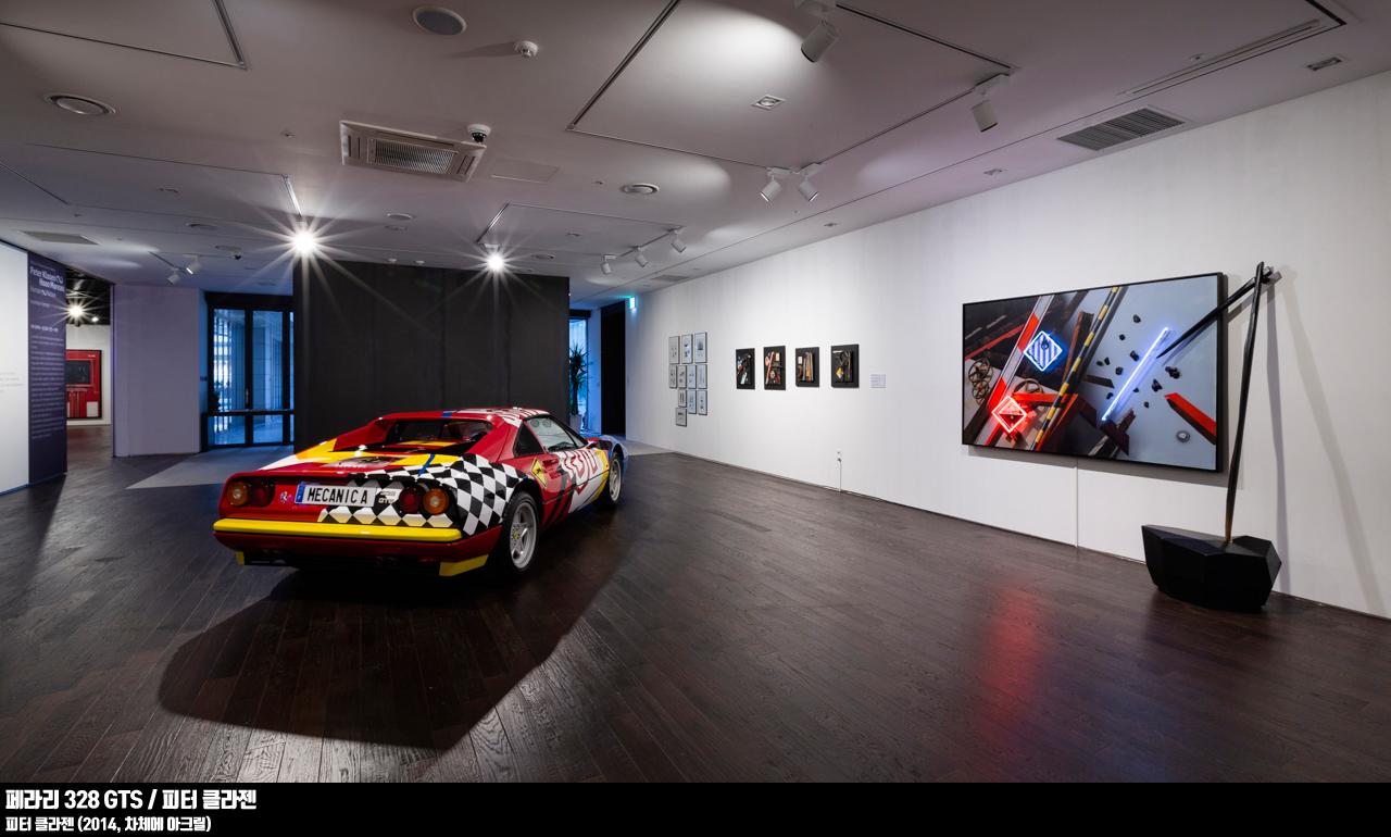 페라리 328 GTS/피터 클라젠(2014, 차체에 아크릴)