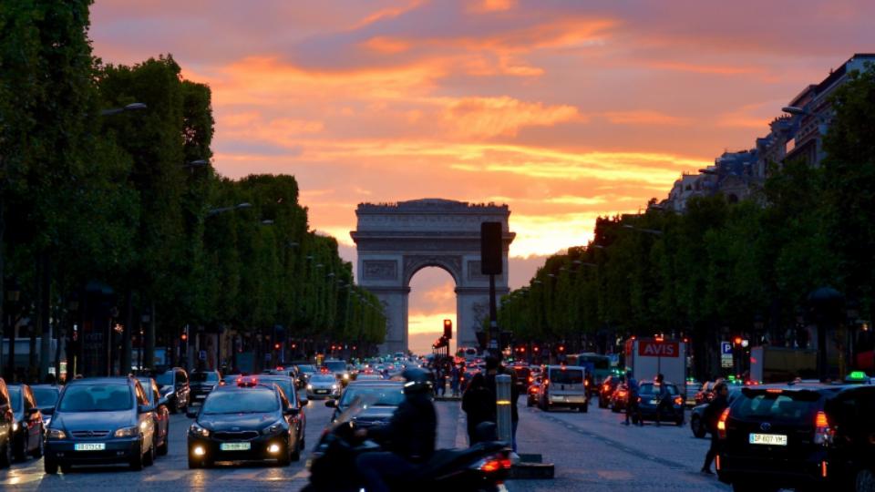파리 샹젤리제 거리