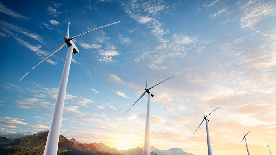 풍력발전기 사진