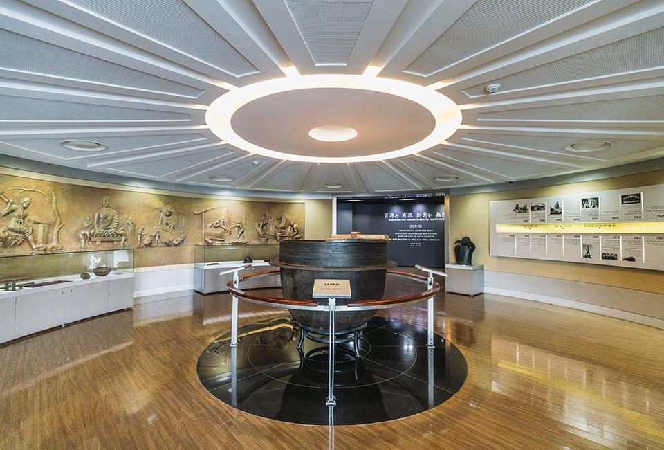 포스코역사박물관 내부전경
