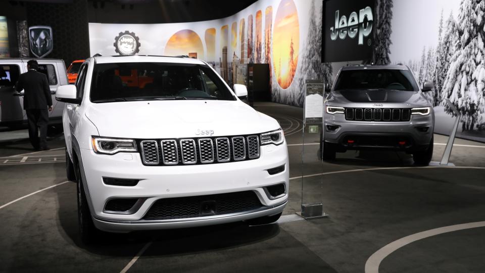 2019 지프 체로키 (출처: 디트로이트 모터쇼)-무게를 줄이기 위해 AHSS 사용한 자동차 사진 Jeep