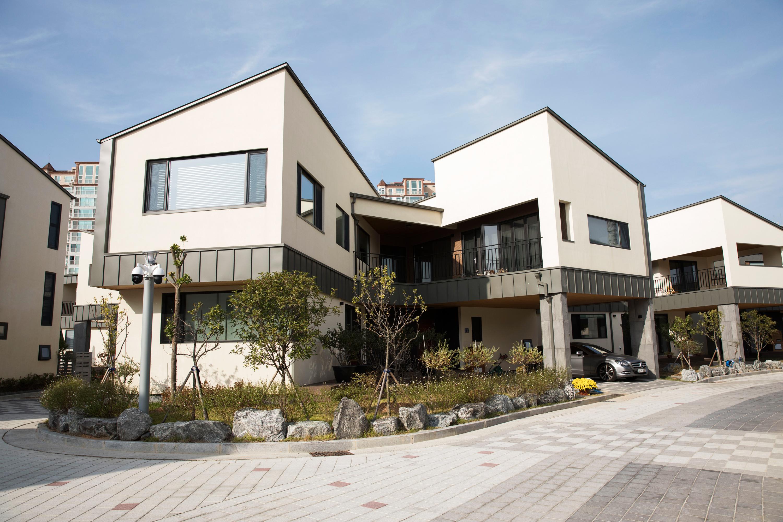 제1회 스틸하우스 건축대전 대상 '옥암 포스힐'  1동 사진
