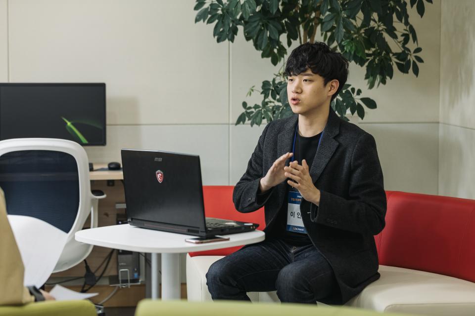 창업 인큐베이팅 스쿨 교육생 이인상 씨