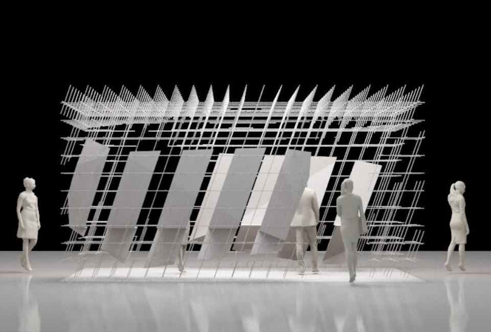 'White Spaces' 모형 사진