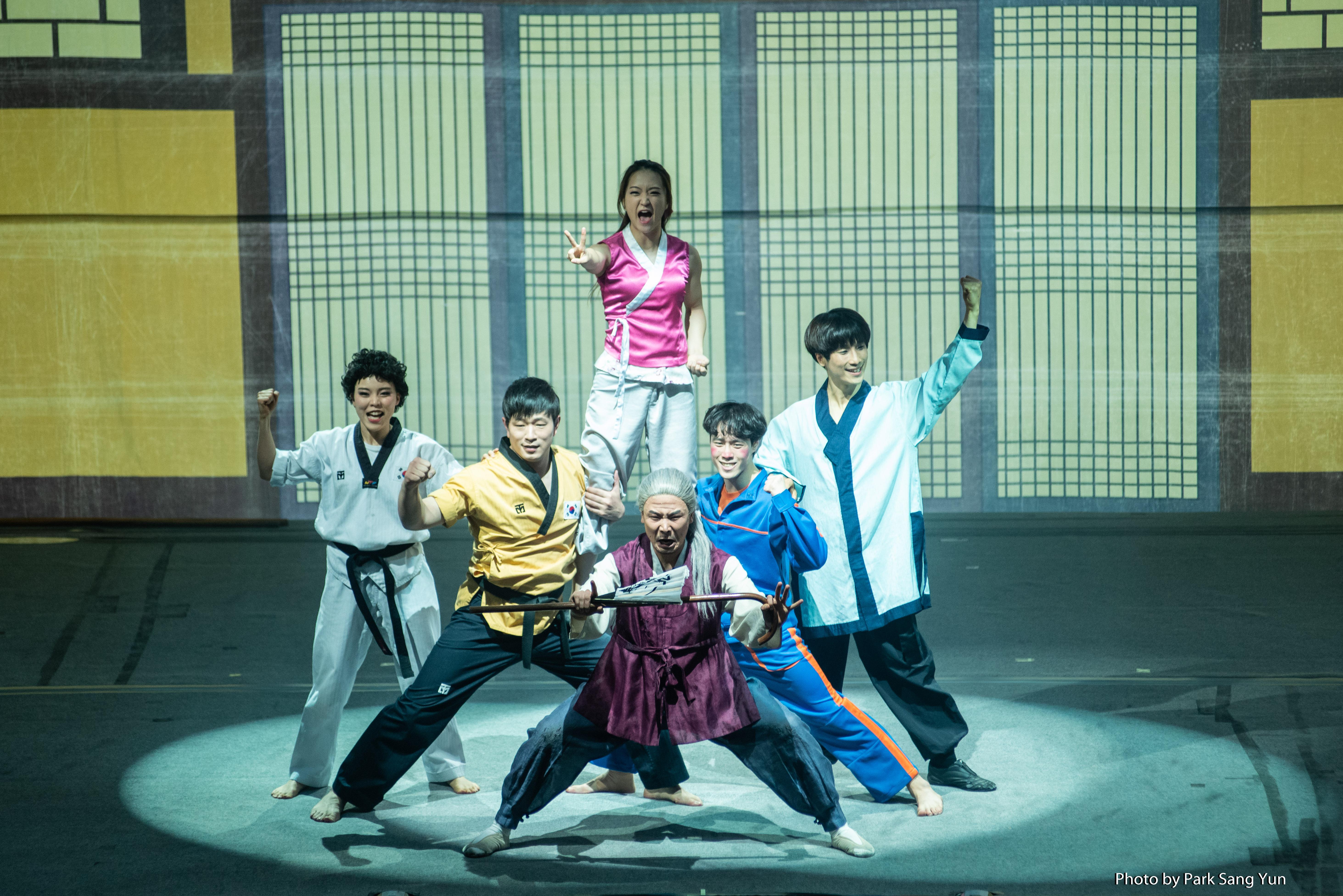 5월 가정의달 특집으로 진행한 '포스코 키즈콘서트' 점프 공연 모습