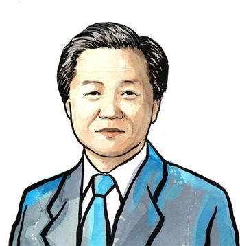 고(故) 김철우 포스코 부사장 초상화