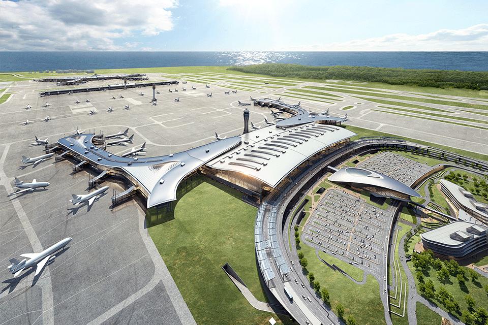 인천국제공항 제2여객터미널 조감도
