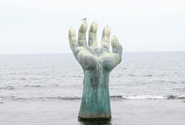 포항 호미곶 상생의 손