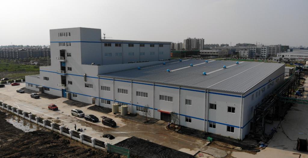 포스코 중국 양극재 공장 전경