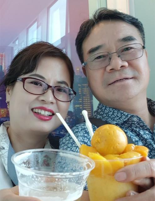 2004년부터 따뜻한 사랑을 함께 실천해오고 있는 최광석 씨 부부