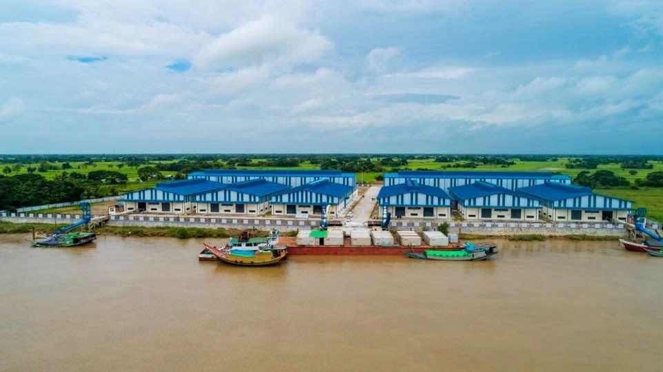 포스코인터내셔널 미얀마 미곡종합처리장