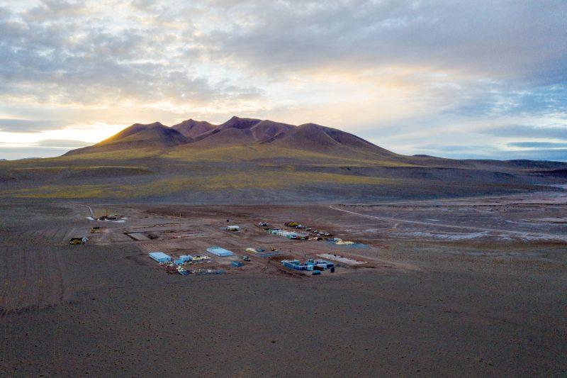 아르헨티나 리튬 데모플랜트 건설 현장